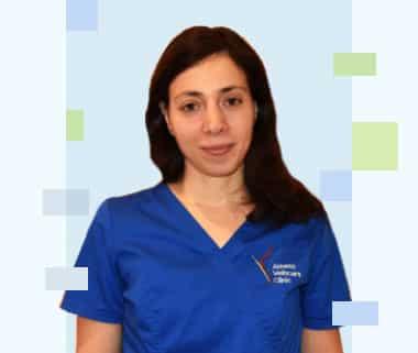 Χριστίνα Θεοδωράκη - Υπεύθυνη ιατρείου